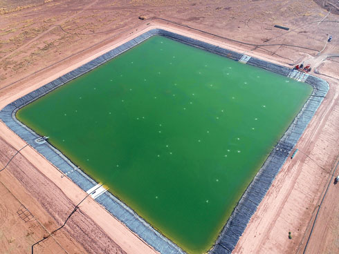 pit aeration oilfield water treatment