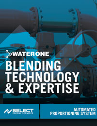 WaterONE - Automated Proportioning System
